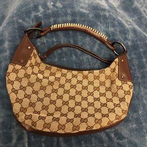 Gucci vintage hobo small bag